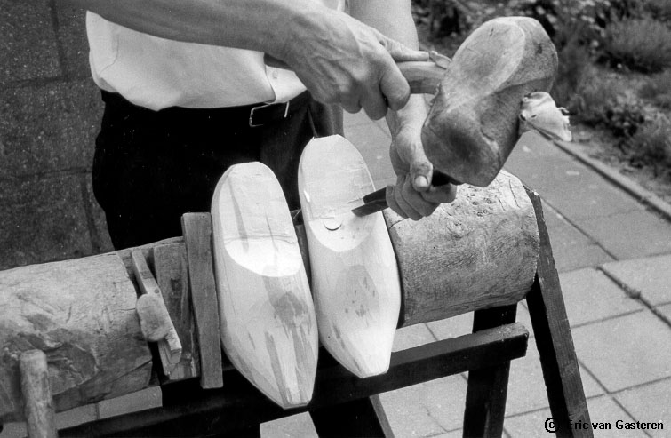 Crafting Wooden Shoes